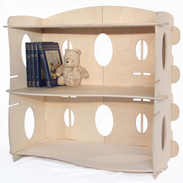 Wooden Children's Book Case