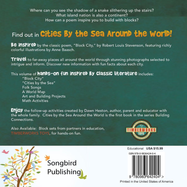 Cities By The Sea Book Back