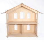 Grand Wooden Dollhouse
