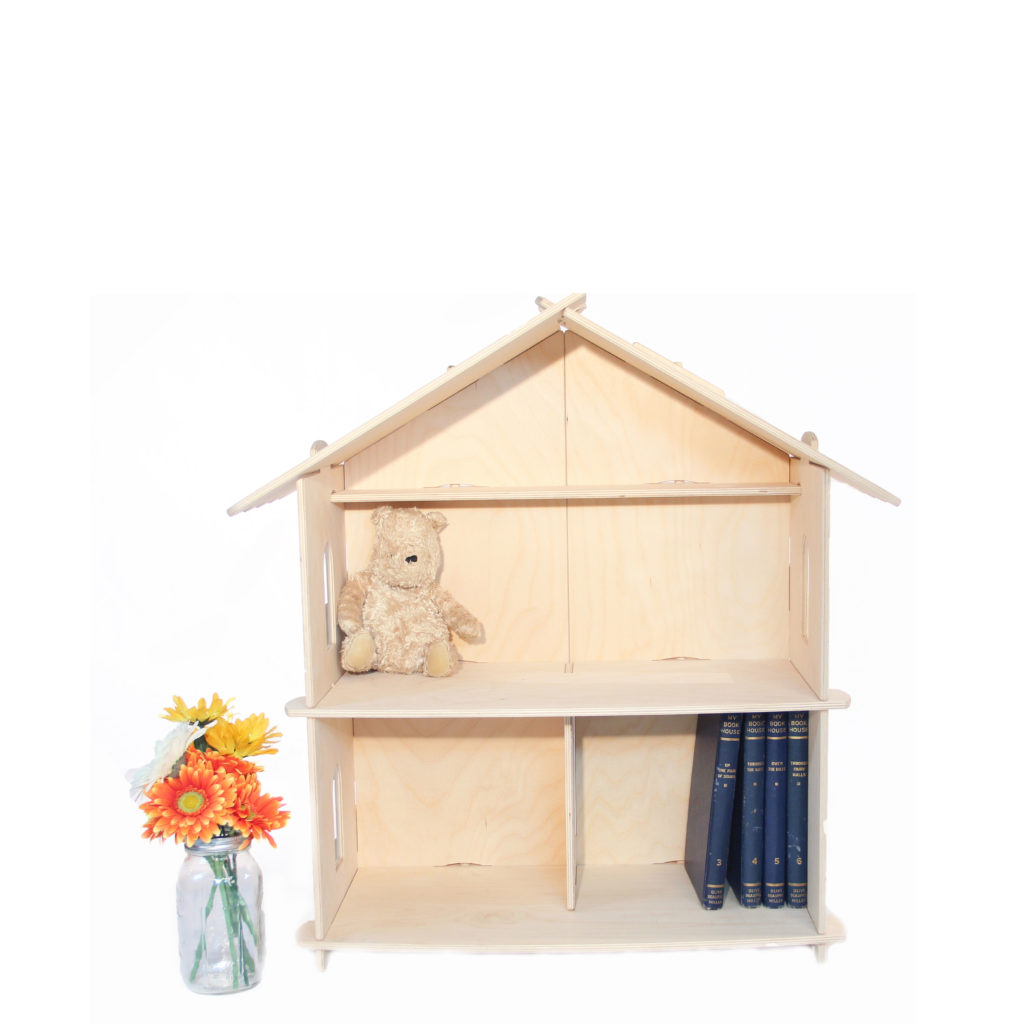 Medium Wooden Dollhouse